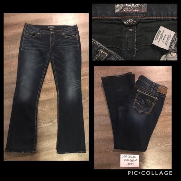 Silver Aiko Bootcut Tall Jeans